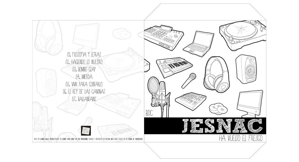 Diseño portada CD